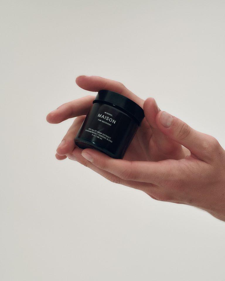 Mineral Health topical CBD cream