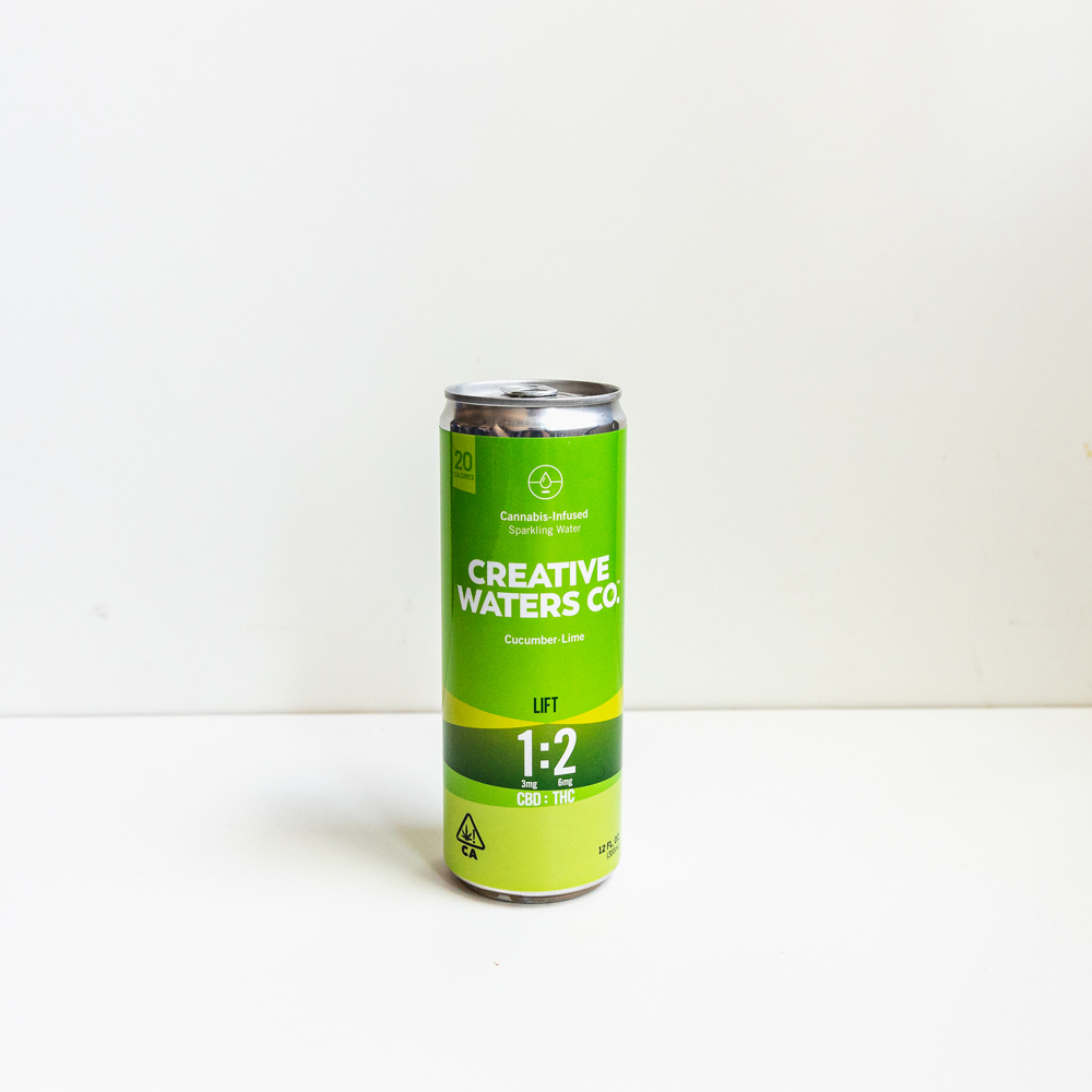 Creative Waters Cucumber-Lime CBD-THC