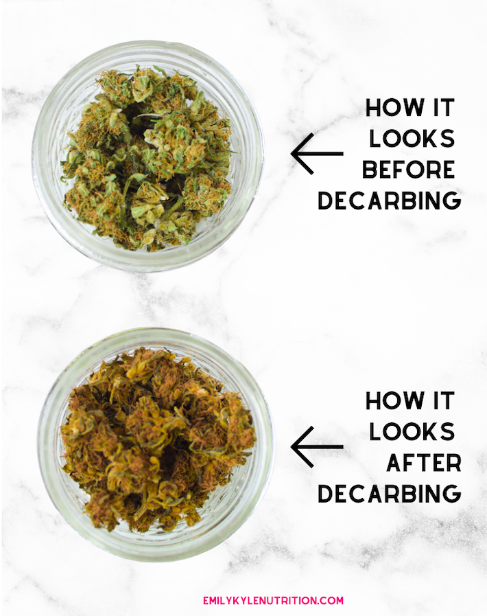Decarboxylated cannabis bud