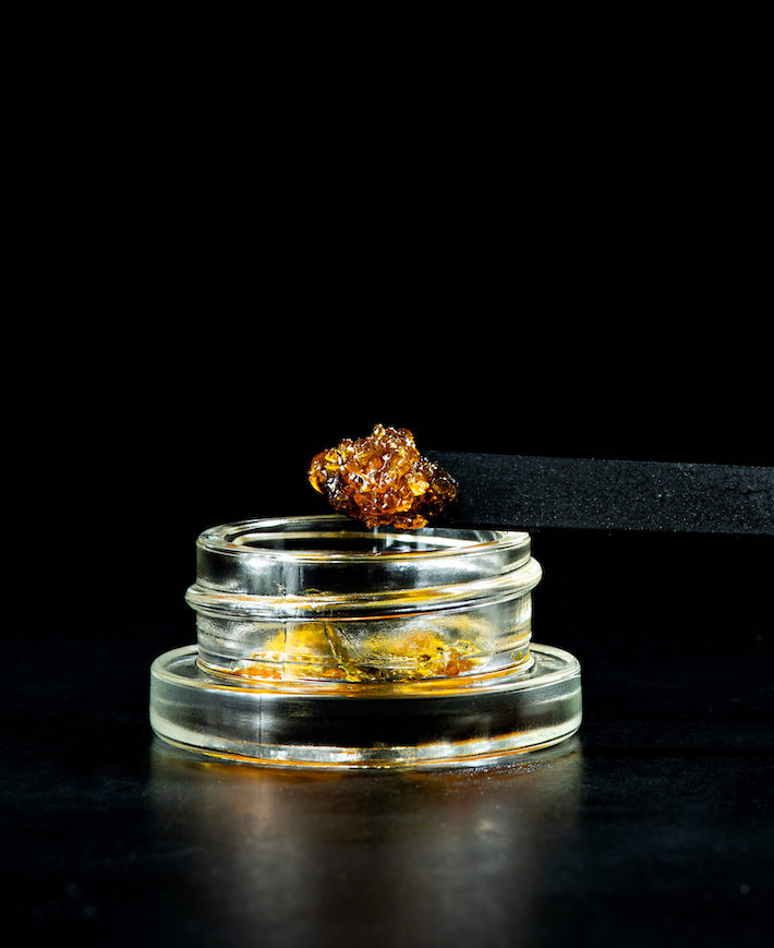 Live resin concentrate
