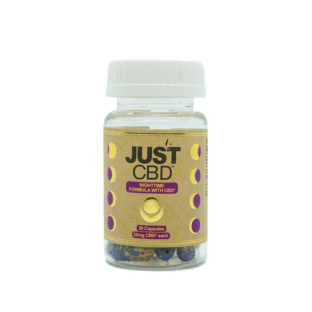 JustCBD capsules for sleep