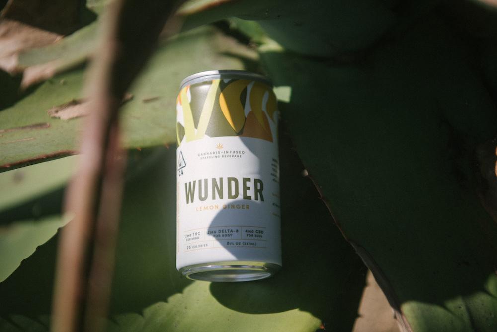 Wunder Delta-8 THC beverage with CBD