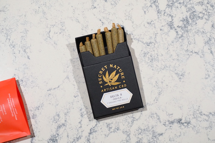 Delta 8 thc indica joints