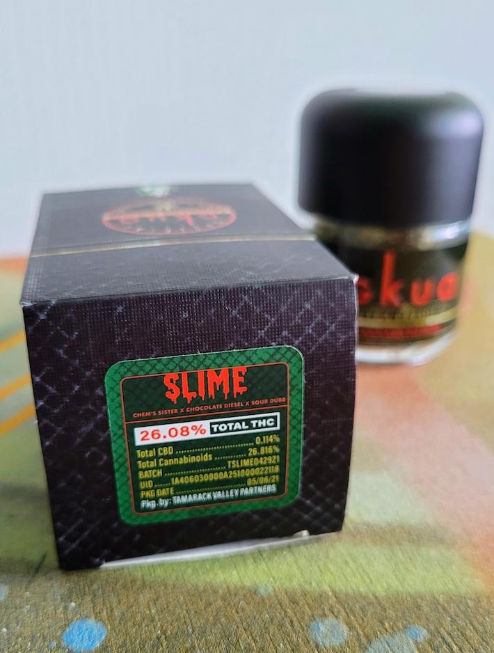 Gkua Slime cannabis strain
