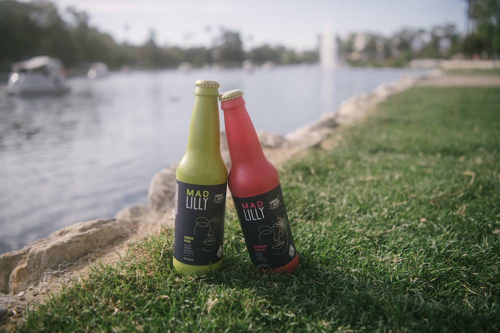 Cannabis-infused beverages by Mad Lilly