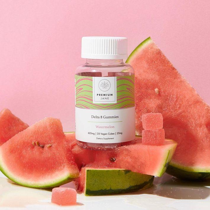 Delta-8 thc gummies with watermelon