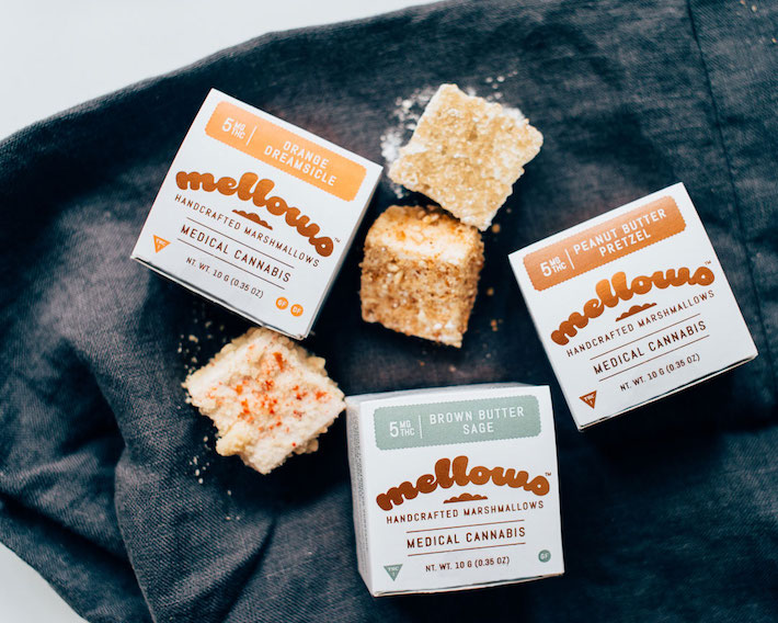 cannabis-infused marshmallow edibles