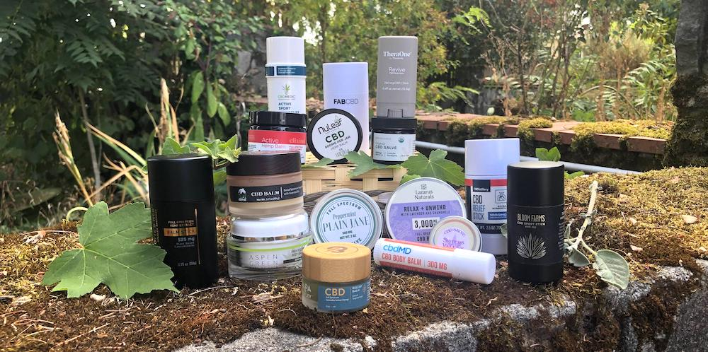 CBD balms and salves reviewed and tested