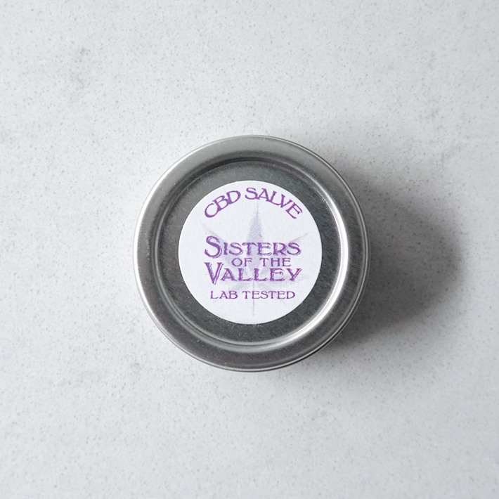Sisters of the Valley CBD salve product
