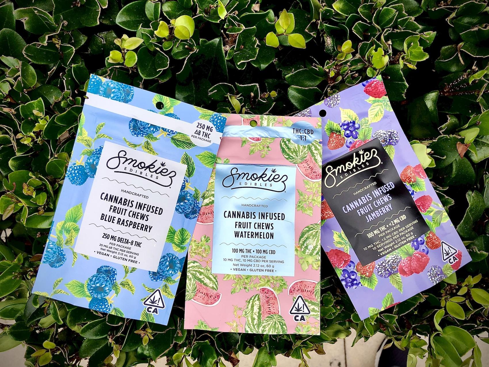 Smokiez Edibles cannabis infused gummies