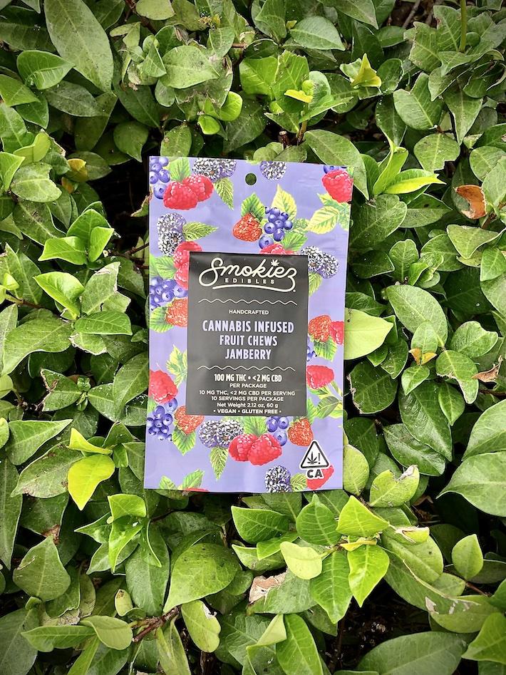 Smokiez Edibles Jamberry fruit chews