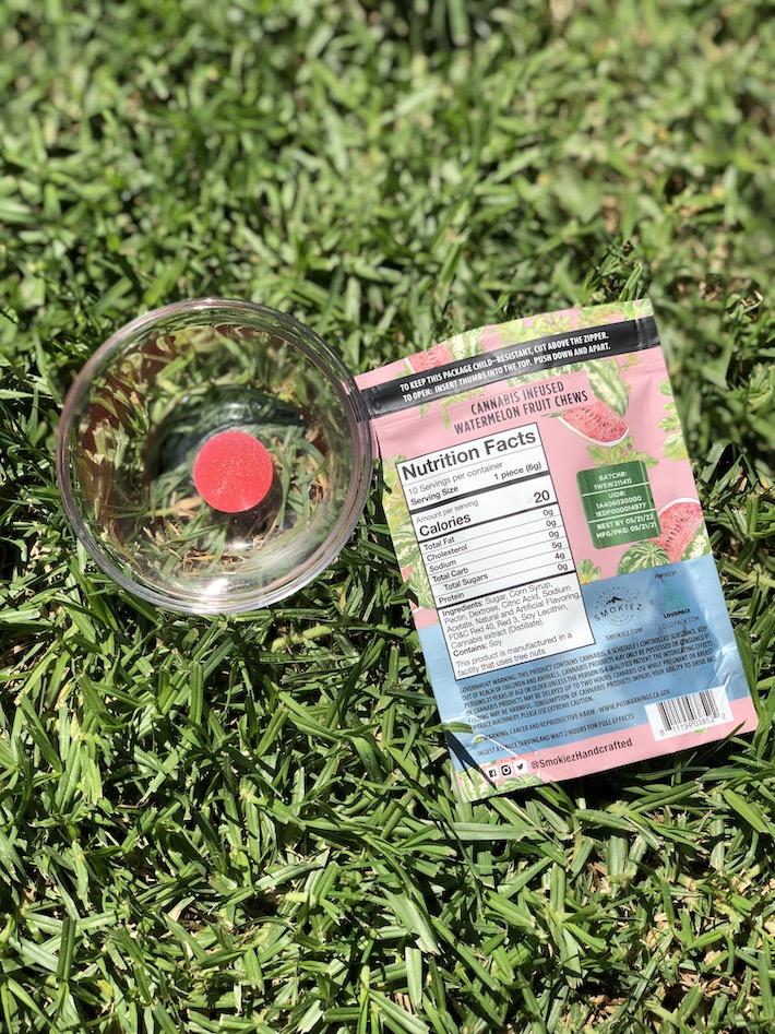 Smokiez Edibles Watermelon Fruit Chews review
